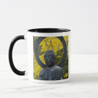 Mug La statue de Budda dans le Japonais fait du