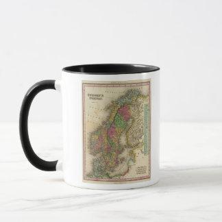 Mug La Suède et la Norvège