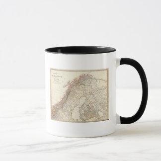 Mug La Suède et la Norvège, du nord, Russie