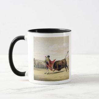 Mug La Suerte de la Capa, 1865 (litho de couleur)