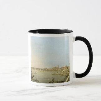 Mug La Tamise de la terrasse de la Chambre de
