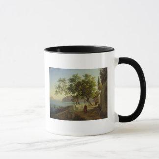 Mug La terrasse du Capucins à Sorrente, 1828
