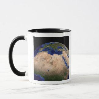 Mug La terre de marbre bleue 3 de prochaine génération