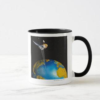 Mug La terre orbitale satellite 6