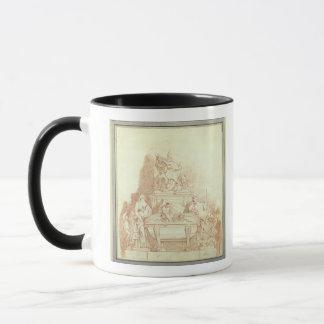 Mug La tombe de pape Urban VIII (1568-1644) par