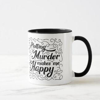 Mug La traçage du meurtre me rend heureux
