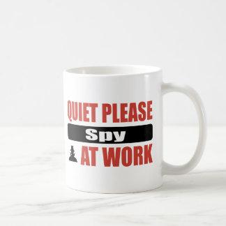 Mug La tranquillité remarquent svp au travail