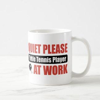 Mug La tranquillité svp le joueur de ping-pong au