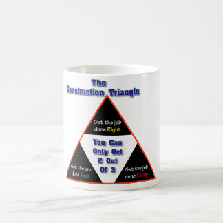 Mug La triangle de construction