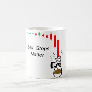 Mug La vente arrête la matière : Ne gardez pas votre