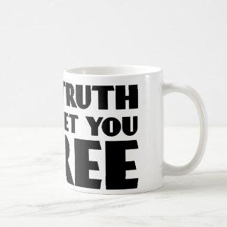 Mug La vérité vous placera libres