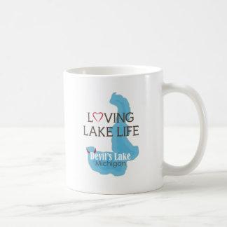Mug La vie affectueuse de lac, le lac devil's,