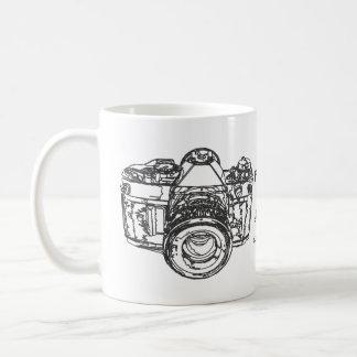 Mug La vie est comme une citation d'appareil-photo