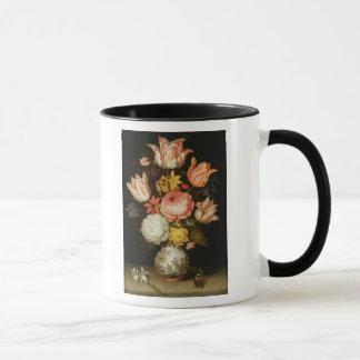 Mug La vie toujours avec des fleurs