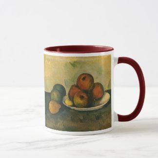 Mug La vie toujours avec des pommes par Paul Cezanne