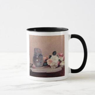 Mug La vie toujours avec des roses, 1889 (huile sur la