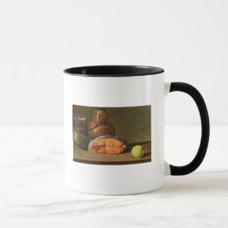Mug La vie toujours avec un morceau de saumon
