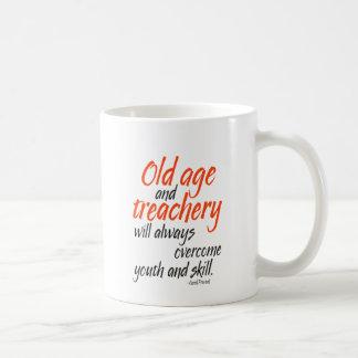 Mug La vieillesse et la trahison surmonteront
