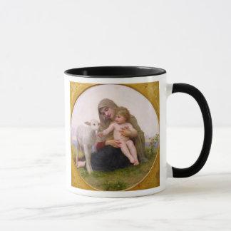 Mug La_Vierge_a_Lagneau - rond dans frame.jpg, saint…