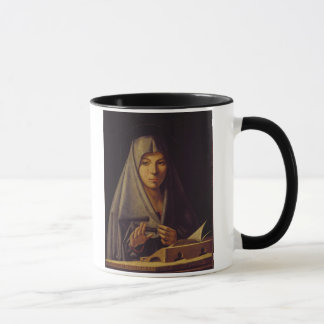 Mug La Vierge Annunciate (l'huile sur le panneau)