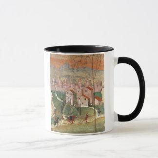 Mug La ville de Prato (fresque)