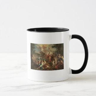 Mug La vision d'Aeneas dans les domaines élyséens