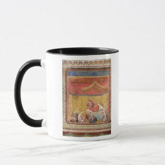 Mug La vision de pape Gregory IX 1297-99