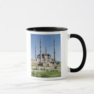 Mug La vue de la mosquée, tabouret, a construit