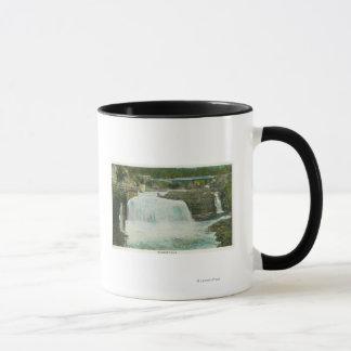 Mug La vue de l'arc-en-ciel tombe # 2