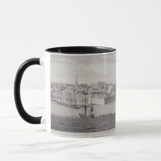 Mug La vue du sud de Berwick sur le tweed, c.1743-45