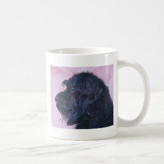 Mug Labradoodle noir
