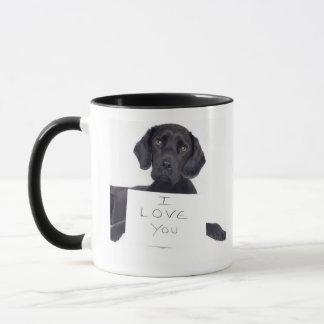 Mug Labrador noir 13 mois