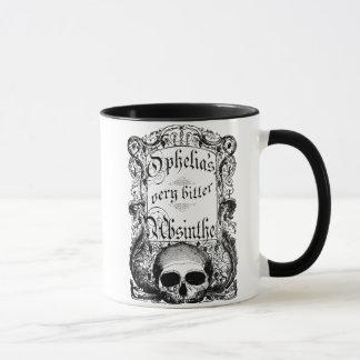 Mug L'absinthe très amère d'Ophélie