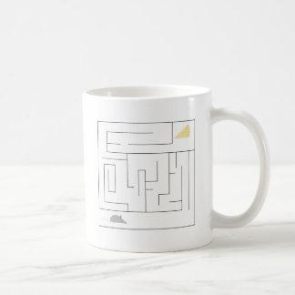 Mug Labyrinthe de souris et de fromage