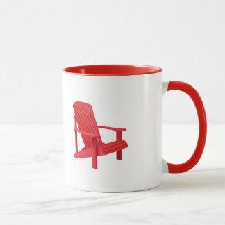 Mug L'Adirondacks appellent - chaise d'Adirondack