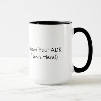 Mug L'Adirondacks appellent - insérez votre ville