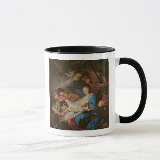 Mug L'adoration des bergers (huile sur la toile) 2