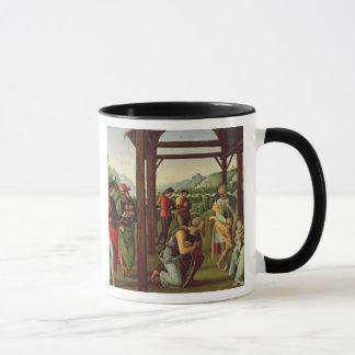 Mug L'adoration des Magi (huile sur le panneau) (voyez