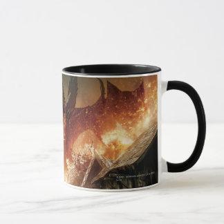 Mug L'affiche de film de Hobbit - de Laketown