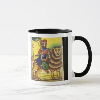 Mug L'Afrique, Ethiopie. Illustration dépeignant le