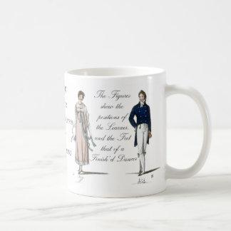 Mug L'âge de Jane Austen contre la danse Contradance