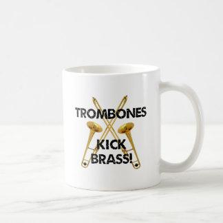 Mug Laiton de coup-de-pied de trombones !