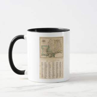 Mug L'Alabama, Mississippi, Louisiane