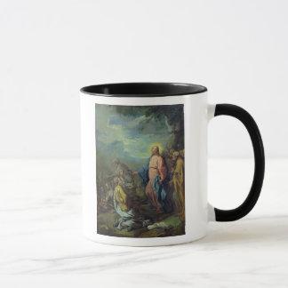 Mug L'alimentation de cinq mille, avant 1733