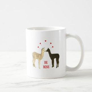Mug L'alpaga soit à moi Valentine