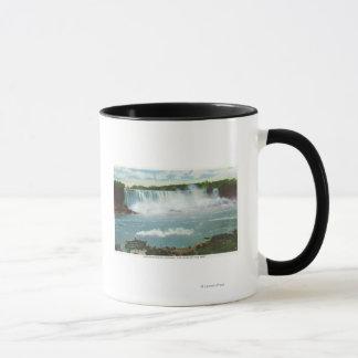 Mug L'Américain tombe domestique de la vue de brume