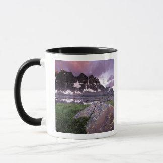Mug L'Amérique du Nord, Canada, Alberta, jaspe