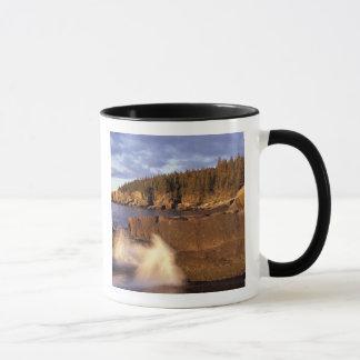 Mug L'Amérique du Nord, USA, JE, la côte rocheuse du
