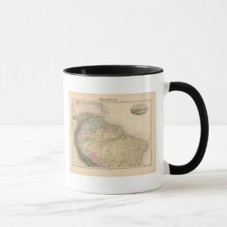 Mug L'Amérique du sud et du nord