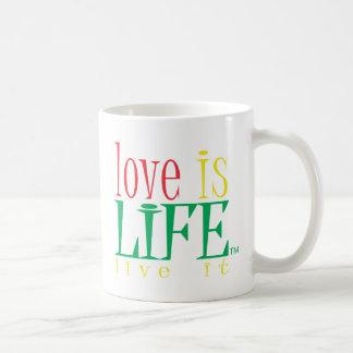 Mug L'amour est la vie